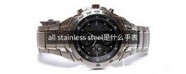 all stainless steel是什么手表